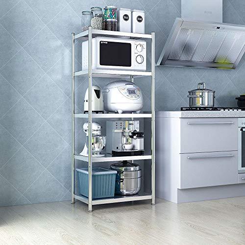 Durable 5-Tier Metal De Cocina Bastidores De Almacenamiento