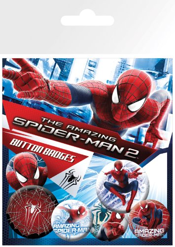 GB eye The Amazing Spiderman 2, Rise of Electro, Badge Pack