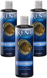 Kent Marine Black Water Expert for Aquarium, 16-Ounce Bottles (3 Pack)