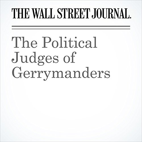 The Political Judges of Gerrymanders copertina