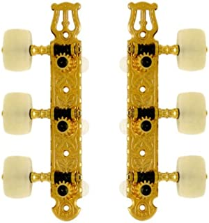 Ping Classical Guitar Tuning Machines - 3 per side - Gold - Ping P2625