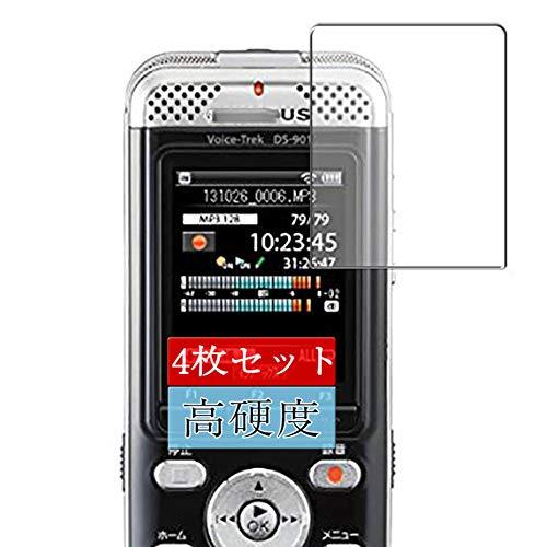 4枚 Sukix フィルム 、 OLYMPUS Voice-Trek DS-901 オリンパス 向けの 液晶保護フィルム 保護フィルム シート シール(非 ガラスフィルム 強化ガラス ガラス ) 修繕版