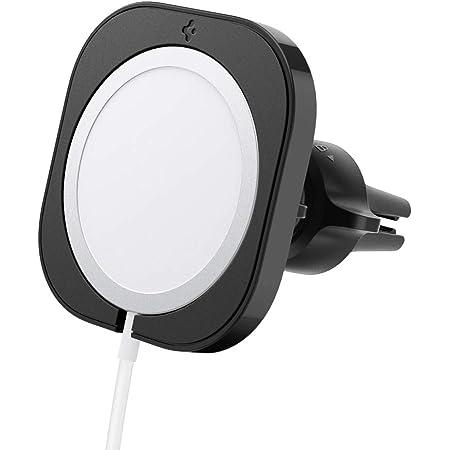 Spigen Mag Fit Autohalterung Hülle Ständer Entwickelt Für Iphone 12 Pro Pro Max Magsafe Ladegerät Autohalterung Hülle Ständer Zubehör Ladegerät Nicht Im Lieferumfang Enthalten Elektronik