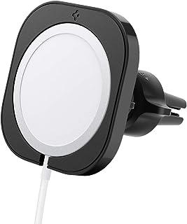 Spigen Mag Fit autohalterung hülle ständer entwickelt für iPhone 12/pro/pro max Magsafe ladegerät autohalterung hülle ständer zubehör  Ladegerät Nicht im Lieferumfang enthalten