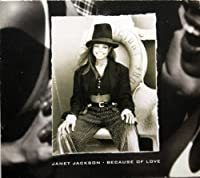 Because of Love by Jackson Janet (6 Tracks Promo 1993)