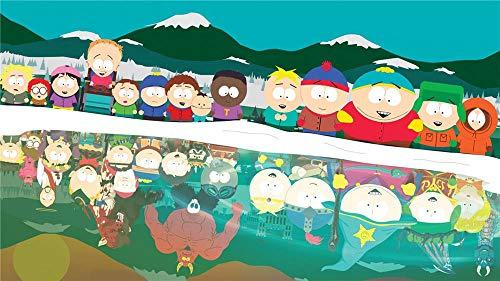 South Park La Vara De La Verdad Diy 5D Diamante Pintura Por Número Kit, Bricolaje Diamond Painting Rhinestone Bordado De Punto De Cruz Artes Manualidades Lienzo Pared Decoración - 40 X 50Cm