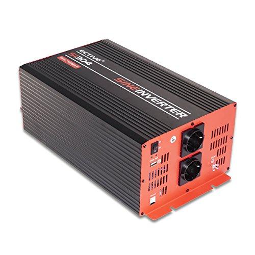 ECTIVE 3000W 12V auf 230V SI-Serie Reiner Sinus Wechselrichter in 7 Varianten: 300W - 3000W