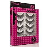 Play Lash | False Eyelashes Set Of 5 Pairs: Easy Application For A Natural And Fabulous Look, Quality Synthetic Fiber Strips For Every Occasion, Parties, Prom, Lightweight And Comfortable – Style S07