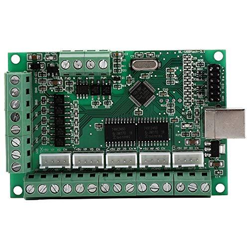 Changor Placa de interfaz USB amplia, aislamiento de circuito aislado de Lotus garantiza la seguridad de la computadora, controlador de movimiento paso a paso de plástico