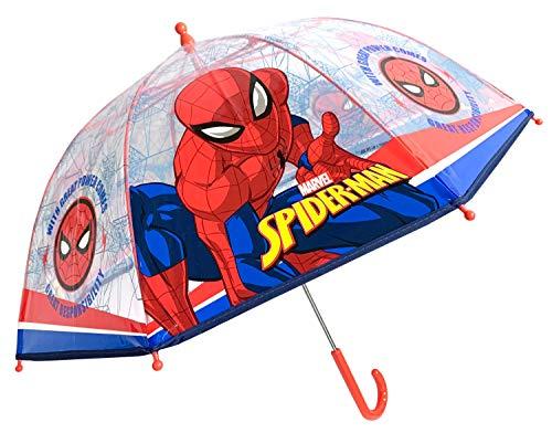 Marvel Spider-Man Stock-Schirm Regenschirm Kuppelschirm