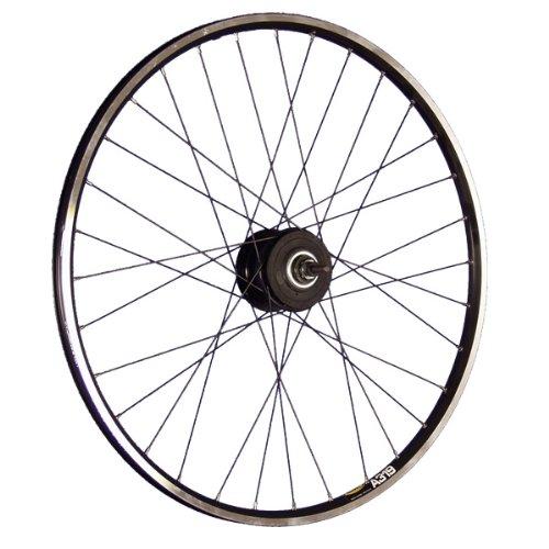 Taylor-Wheels 28 Zoll Hinterrad Laufrad A319 / ALFINE 8-Gang Disk (32Loch) - schwarz