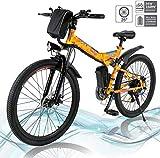 Vélo électrique Pliable, vélos électriques 36V 250W, vélo de Montagne à...