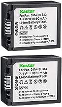 Kastar Battery DMW-BLB13 (2-Pack) for Panasonic DMW-BLB13 DMW-BLB13E DMW-BLB13GK DE-A49 DE-A49C and Panasonic Lumix DMC-G1 DMC-G2 DMC-G10 DMC-GF1 DMC-GH1 Cameras