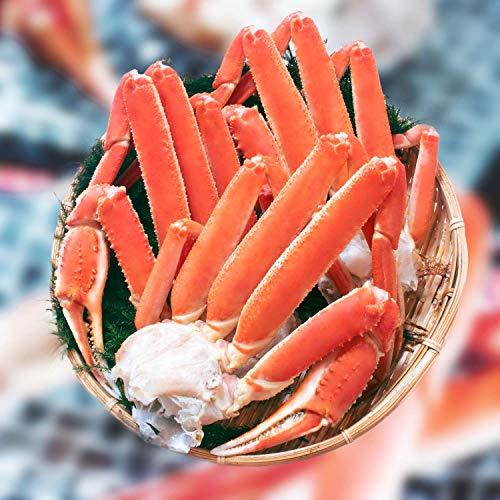 ズワイガニ 足 北海道 加工 切足 天然 ロシア産 ボイル ずわい蟹 脚 3L-4L 特大 蟹 かに 良品選別済 (3kg 8-11肩 訳あり お届け日時指定)