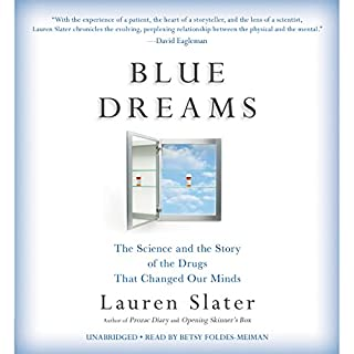 Blue Dreams audiobook cover art