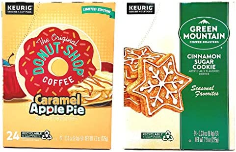 Green Mountain K Cups and The Original Donut Shop Seasonal Variety Pack Cinnamon Sugar Cookie product image