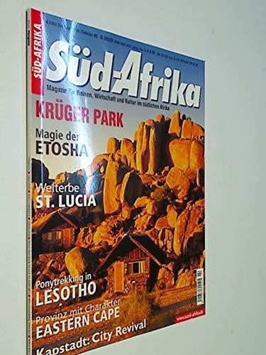 Süd-Afrika Heft 4 / 2004 Ponytrekking in Lesotho ; Magie der Etosha. Magazin für Reisen, Wirtschaft und Kultur im südlichen Afrika. Zeitschrift 4390377708002