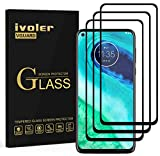 VGUARD 3 Stücke Panzerglas Schutzfolie für Motorola Moto G8, [Volle Bedeckung] Panzerglasfolie Folie Hartglas Gehärtetem Glas BildschirmPanzerglas für Motorola Moto G8