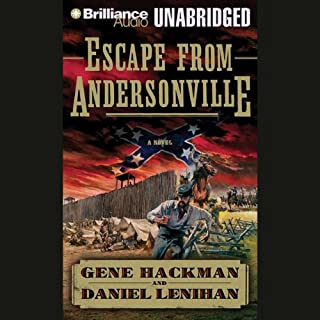 Escape from Andersonville audiobook cover art