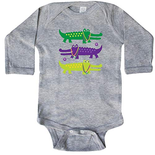 inktastic Mardi Gras Holiday Long Sleeve Creeper 18 Months Heather 393f5