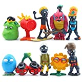 Zinessa Plants vs Zombies Series PVC Toys, 10 pcs/Set New Gift Toys Collection