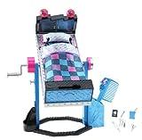 Mattel Monster High V2953 - Frankies Spiegel-Bett, Zubehör -