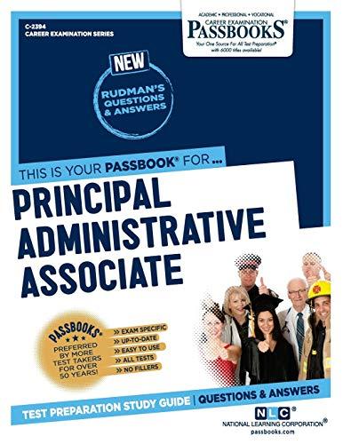 Principal Administrative Associate (2394) (Career Examination Series)