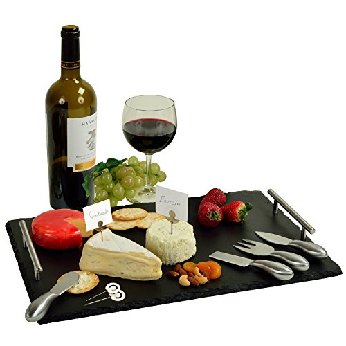Picnic at Ascot Slate Cheese & Charcuterie Board