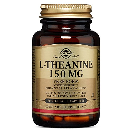Solgar® L-Teanina 150 mgpara ayudar al estrés - 60 Cápsulas vegetales