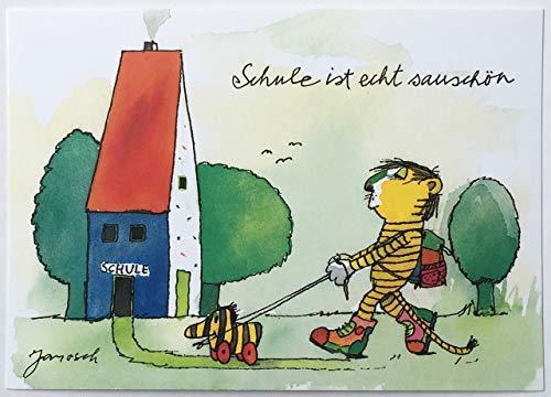 Janosch Postkarte Schulanfang