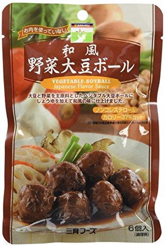 三育フーズ 和風 野菜大豆ボール 100g [0618]