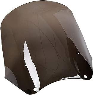 XMT-MOTO 15 inch Windscreen fits for Harley Davidson Dyna Street Bob T-Sport,Smoke