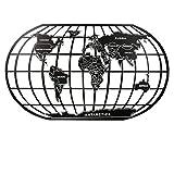 Europäische Schmiedeeiserne Weltkarte Wand Weiche Dekoration Wohnzimmer Schlafzimmer Westlichen Restaurant
