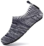 SAGUARO Zapatillas de Estar por Casa para Niños Zapatillas Casa Niñas Zapatos Infantiles Bebé Caminan Zapatillas Suela Antideslizante Suave Azul Marino Gr.34/35
