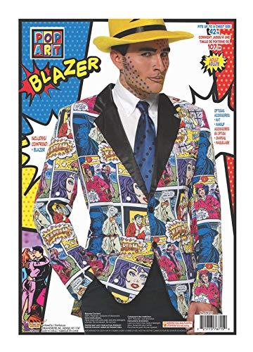 Forum Novelties 76715 Pop Art Blazer (UK 42): Amazon.es: Juguetes ...