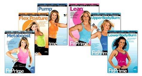 Whfn Fitprime Complete Dvd Set Lean Pump Metaboost Flexposture Upper Body Lower Body Burn
