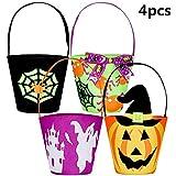 AMPIO UTILIZZO: i cestini per i secchi di caramelle sono molto adatti per questa vacanza di Halloween, possono essere applicati per attività dolcetto o scherzetto, feste di Halloween, decorazioni per la casa, mascherate, feste di cosplay, anche buone...