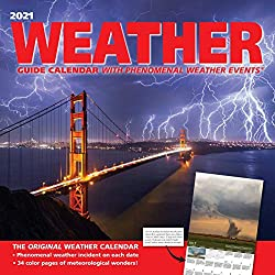 Weather Guide 2021 Wall Calendar