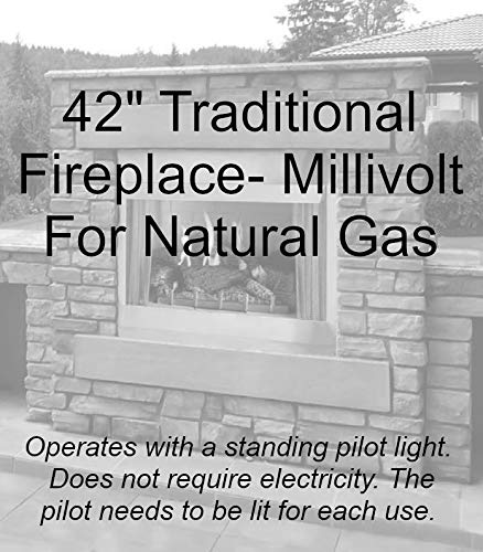 Review Of Empire Comfort Systems Outdoor Traditional 42 Premium Fireplace OP42FP32MN - Natural Gas
