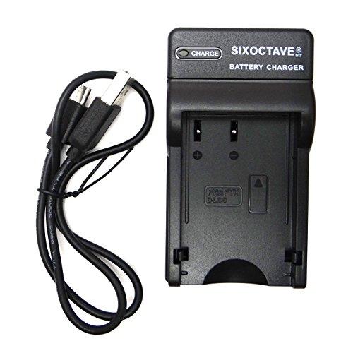 SIXOCTAVE D-LI109 用 USB急速互換充電器チャージャー K-BC109J / D-BC109 純正 互換バッテリー共に対応 PENTAX ペンタックス K-r K-30 K-50 K-70 K-S1 K-S2 KP D-BG7