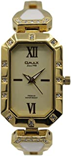 Omax Dress Watch For Women Analog Stainless Steel - 00EA06G11I