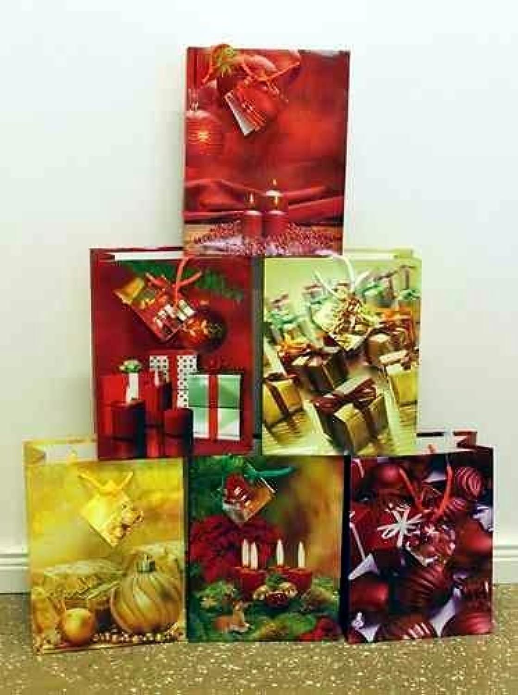 Geschenktüten Medium (Mittel) Weihnachtstasche Weihnachtsbeutel Weihnachtsbeutel Weihnachtsbeutel Beutel Geschenktaschen Weihnachten 751 (96 Stück) B00N3T50LO   Sehr gelobt und vom Publikum der Verbraucher geschätzt  937791