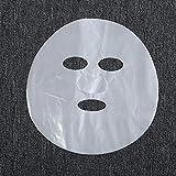 Miss.AJ 100 pcs Plastic mask for Micro-Needle. Facial anesthetic mask,Facial Plastic wrap...