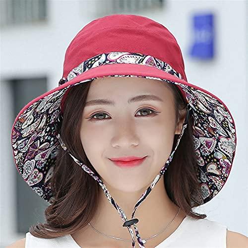 XQLSRJ Benna da Donna Cappello Panama 2021 Fashion Sun Visor Traspirante BUK-SEDE PESCERMANTE Pescatore Cappello Estivo Cappelli da Sole Cappelli da Sole Cappellino per Bacino Visiera