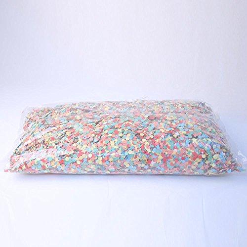 Cotillon d'alsace Sachet De 1Kg Confettis Multicolores