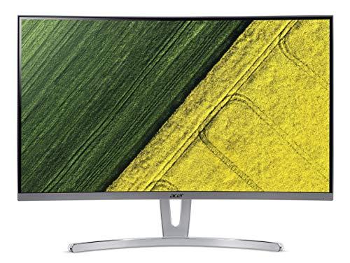 Acer ED273 27 inch (68.58 cm) Full HD Curved LED Monitor I 250 Nits I 75Hz Refresh Rate I HDMI, DVI & VGA Ports I AMD Free Sync I 3W x 2 Stereo Speakers I (White)