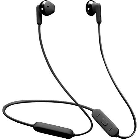 JBL Tune 215BT, 16 Hrs Playtime with Quick Charge, in Ear Bluetooth Wireless Earphones with Mic, 12.5mm Premium Earbuds with Pure Bass, BT 5.0, Dual Pairing, Type C & Voice Assistant Support (Black)