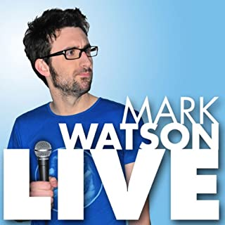 Mark Watson Live cover art