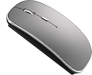 Wireless Mouse for MacBook Pro MacBook Air Laptop Mac iMac Desktop Computer (Gray)