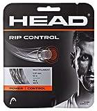 HEAD Rip Control Tennissaiten, 1,30 mm, 16 Gauge, 3 x 12 m, Schwarz